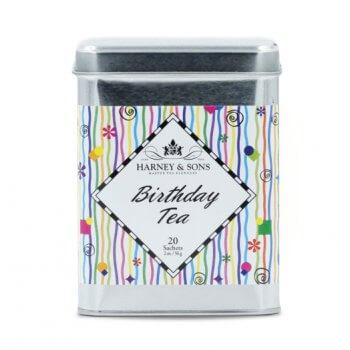 Birthday Tea - Boite métal. 20 sachets