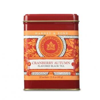 Cranberry Autumn - Boite métal. 20 sachets