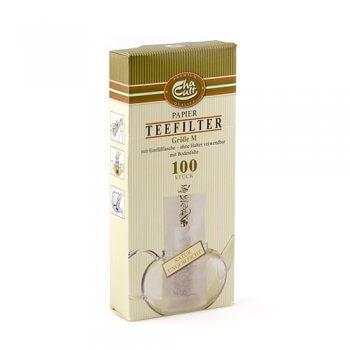 100 Filtres à Thé en Papier - Taille M - ChaCult