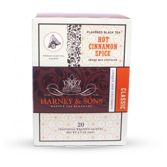 Hot Cinnamon Spice - 20 sachets soie suremballés