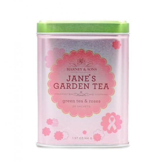 Jane's Garden Tea - Boite métal. 20 sachets