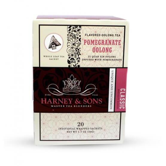 Pomegranate Oolong - 20 sachets soie suremballés