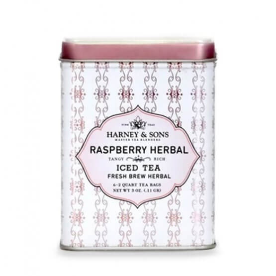 Raspberry Herbal - Iced Tea - 6 pochons