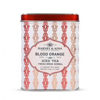 Blood Orange - Iced Tea - 6 Pouches in Tin