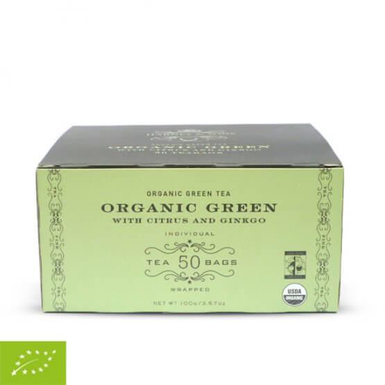 Green with Citrus & Gingko Bio - 50 sachets papier