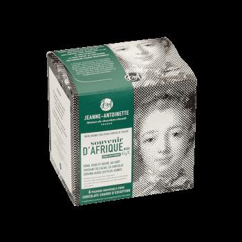 Jeanne-Antoinette - Souvenir d'Afrique - Boîte de 6 pochons