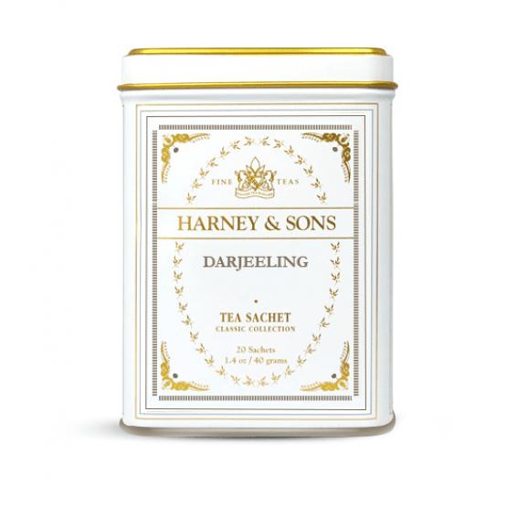 Harney and Sons Darjeeling - Classic Collection - Boite de 20 sachets de thé
