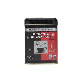 Breakfast BIO - Thé en vrac, boite métal. 112g