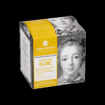 Jeanne-Antoinette - Cocon Blanc - Boite de 6 pochons