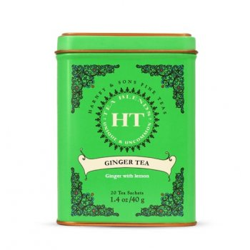 Ginger Tea - Boite métal. 20 sachets