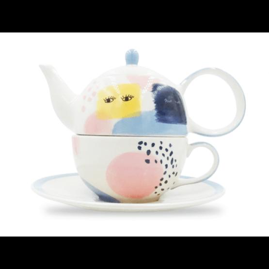 Tea-for-one set NEPOMUK