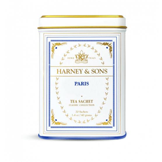 Paris - Boite métal. 20 sachets