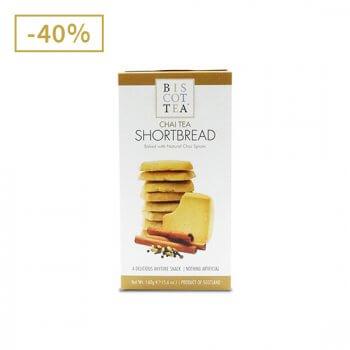 Biscottea - Shortbread au thé chai