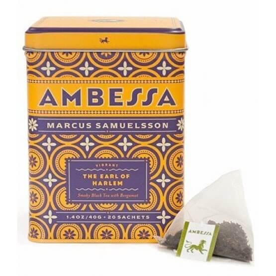 Ambessa - Earl of Harlem - Boite métal. 20 sachets